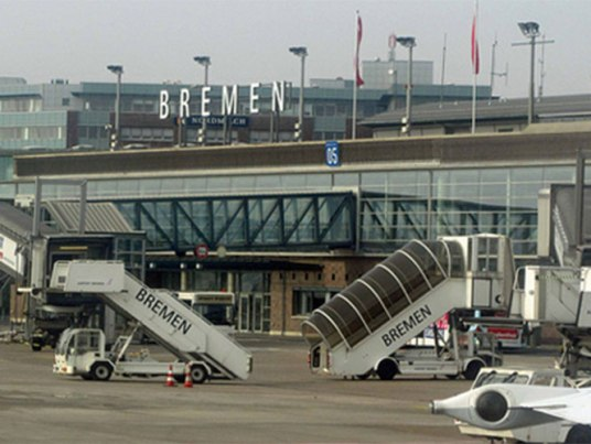 El OVNI fue avistado desde la torre de control del aeropuerto de Bremen